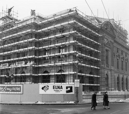 Genève, reconstruction du Grand-Théâtre
