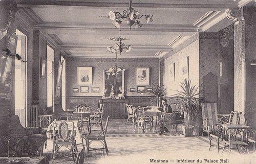 L'intérieur du Palace Hôtel de Montana