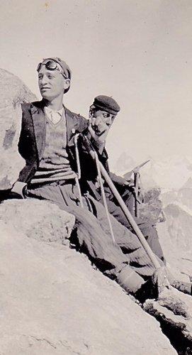 Porteur de montagne ou aspirant guide de montagne