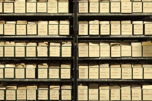 Fichier de l'Agence internationale des prisonniers de guerre