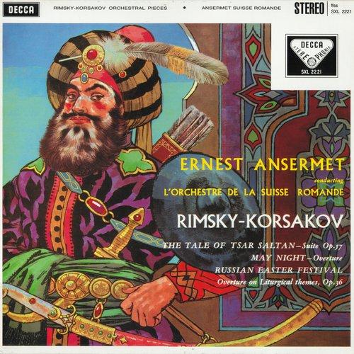 N.RIMSKI-KORSAKOW, La Grande Pâque Russe, OSR, Ernest ANSERMET, SXL 2221