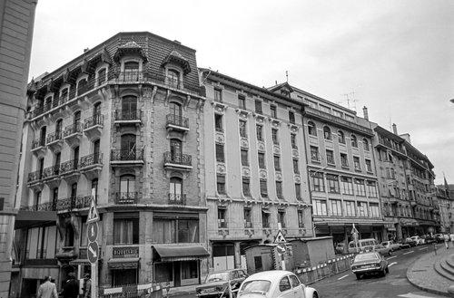Genève, l'Uniprix côté Rue de la Madeleine