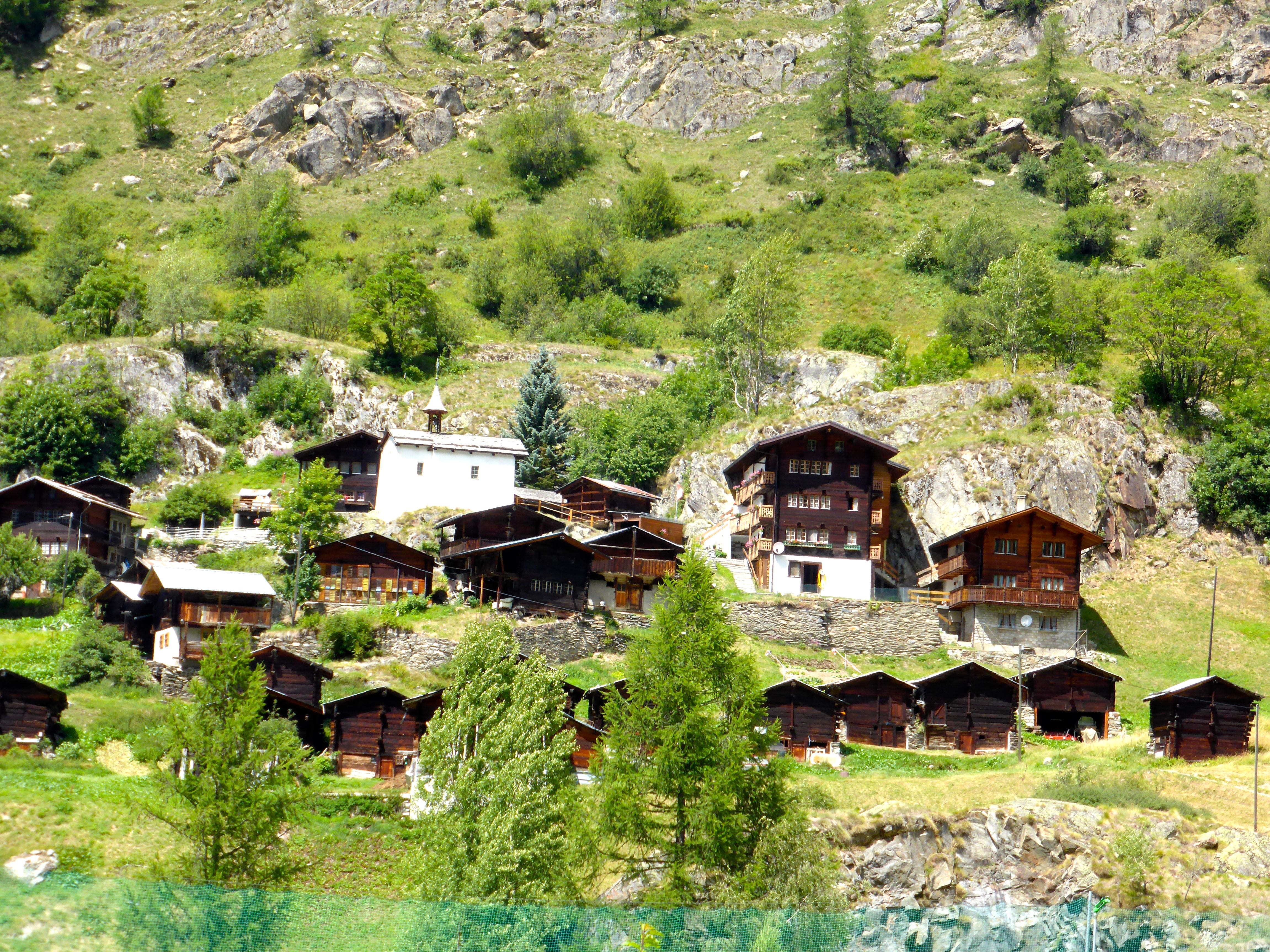 Visite au Lötschental