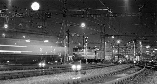 Genève, gare Cornavin, les voies de triage