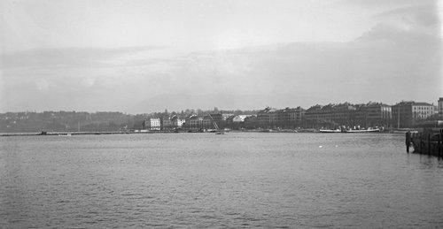 Genève, quai Gustave-Ador