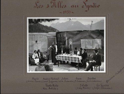 """Pièce de théâtre """"Les 3 Filles au Syndic"""" - St-Luc"""