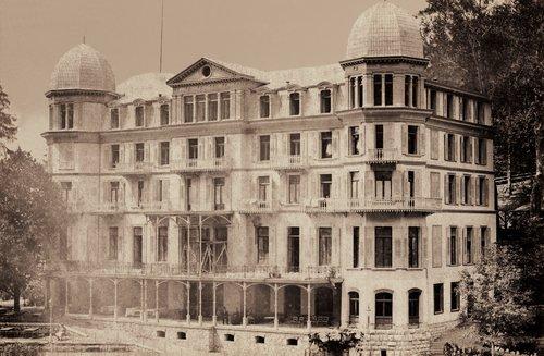 Le Grandhôtel Giessbach en 1880