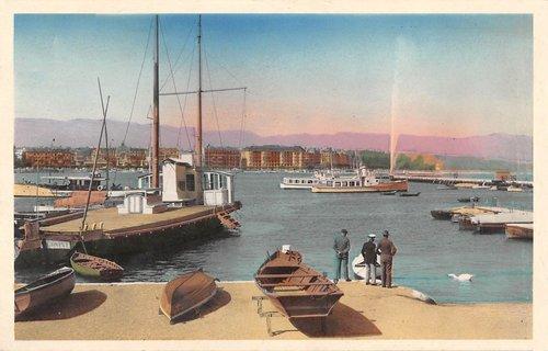 La barque Ville de Genève