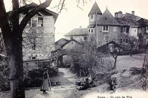 Sierre, le château de villa