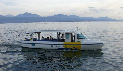 Aquarel, bateau électrique