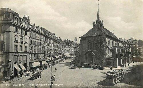 Lausanne place Saint François