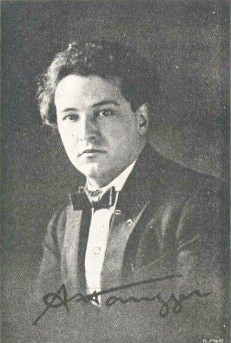 Arthur HONEGGER vers la fin des années 1920