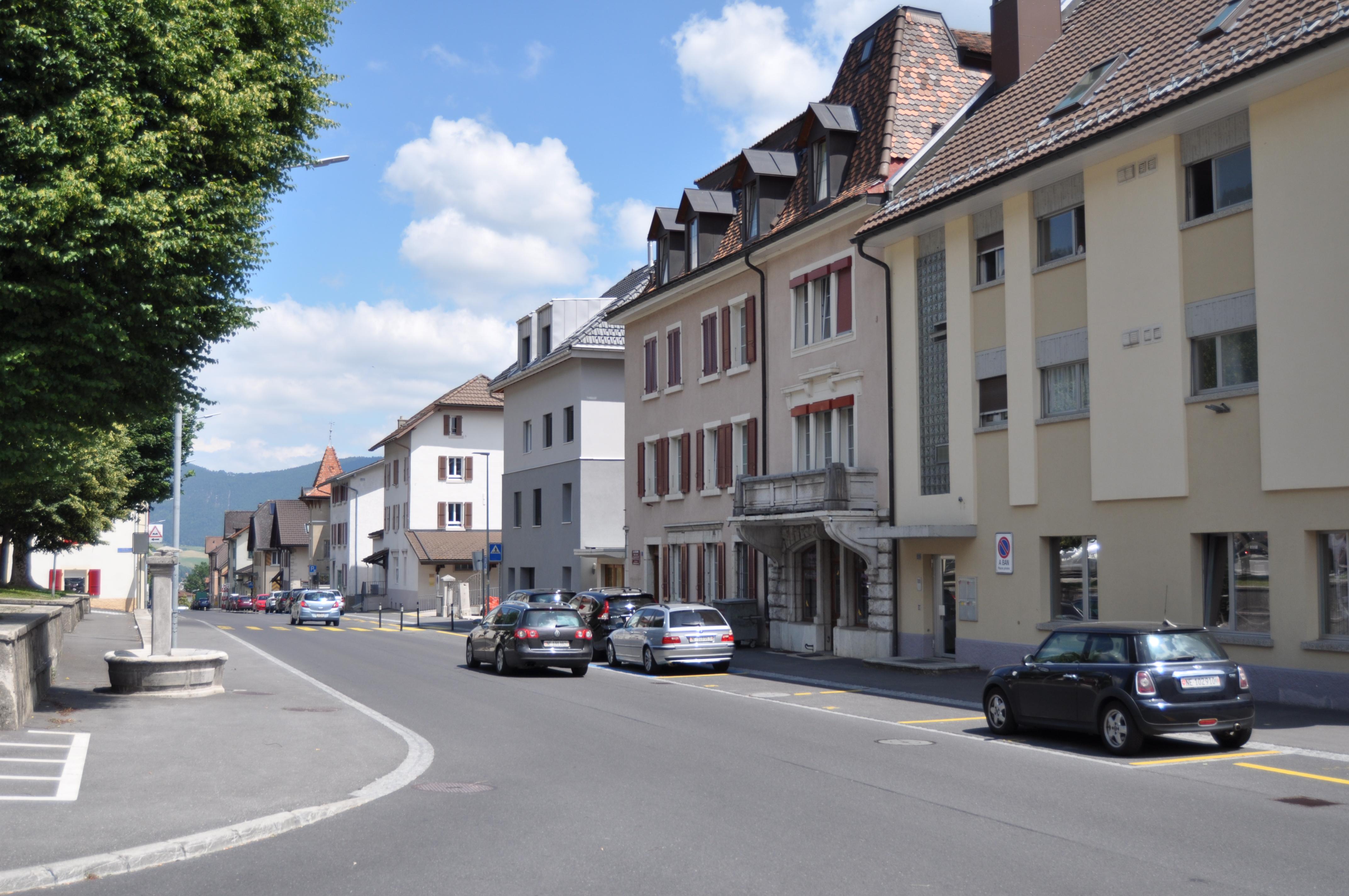 Cernier, rue Frédéric Soguel 18 en 2018