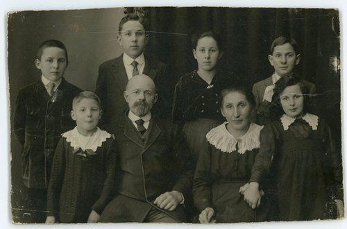Famille Buchet 1920