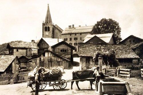 Le village de Lens