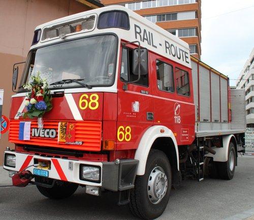 Rail-Route Camion d'interventions musée du SIS