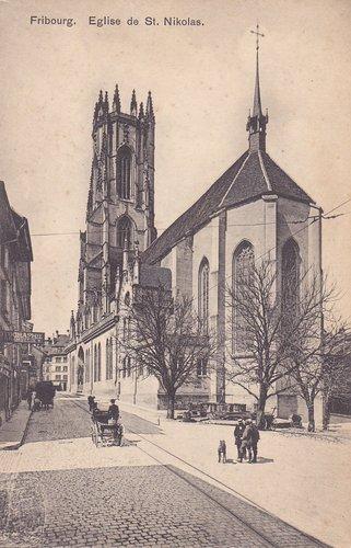 Fribourg - Eglise Saint-Nikolas