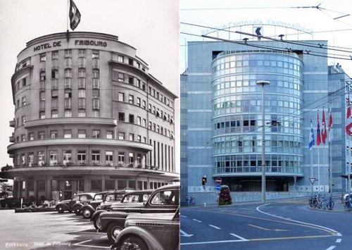 Avenue de la Gare: Hier/aujourd'hui