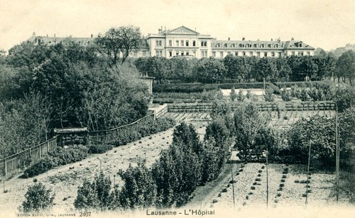 Lausanne, l'ancien hôpital cantonal