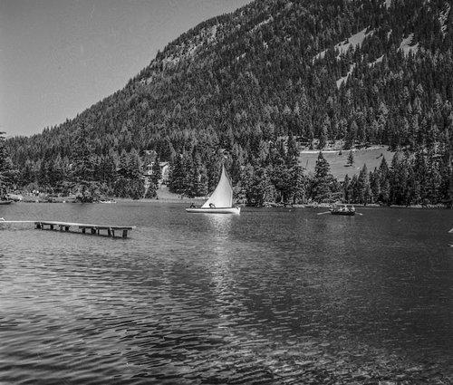 Voile sur la Lac de Champex