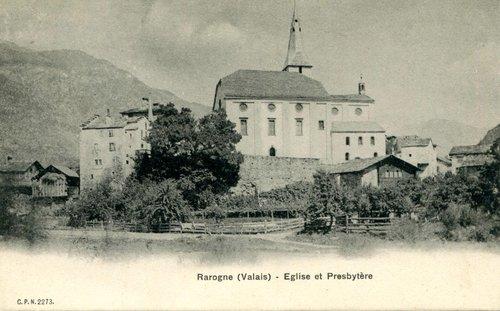 Rarogne, l'ancienne église