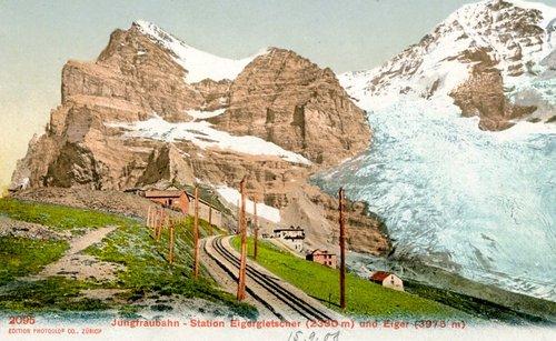 Le train de la Jungfrau