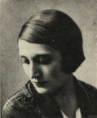 Jacqueline BLANCARD vers 1937