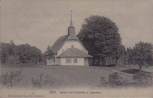 Lausanne église des Croisettes