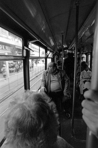 Genève, dans le tram 12