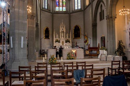 Le Choeur principale de l'église.
