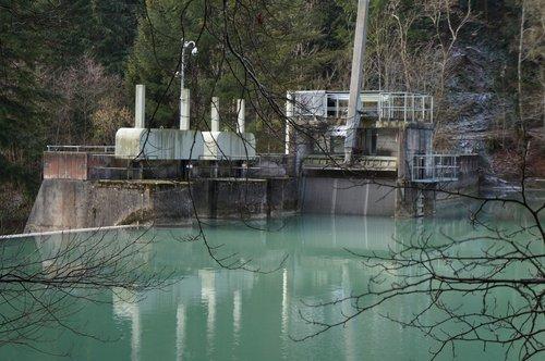 Aubonne, le barrage
