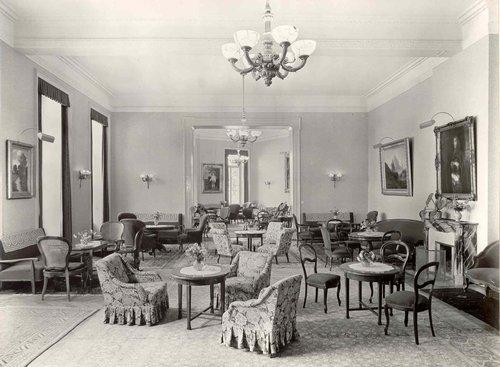 Le Salon Davinet du Grandhôtel Giessbach