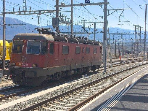 Locomotive CFF Re 6/6