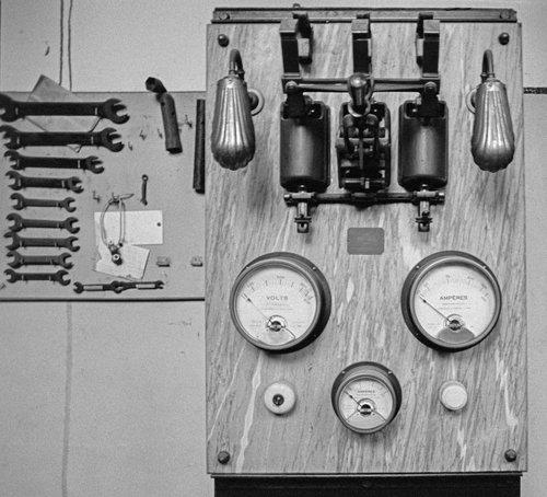 Le Téléphérique du Salève, un tableau électrique