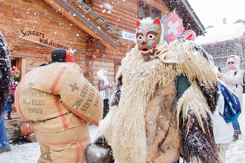 Carnaval 2018 à Evolène