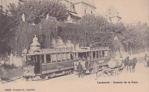 Tramway lausannois