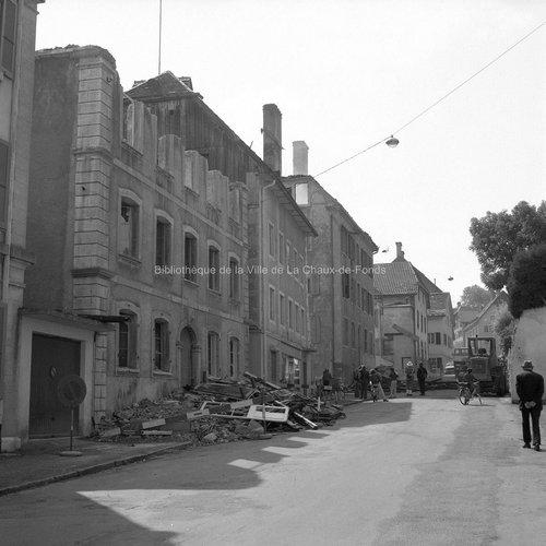 Le Locle à l'honneur - Incendie à la rue du Crêt-Vaillant