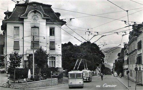 Le trolleybus du Val de Ruz