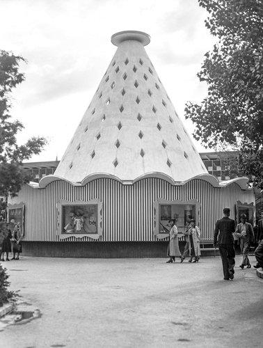 Exposition nationale Suisse 1939, pavillon de la mode