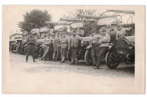 Ecole de recrues 1914