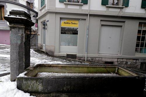 Fontaine à la rue du cygne