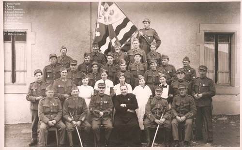 Les soldats de Montet-Glâne