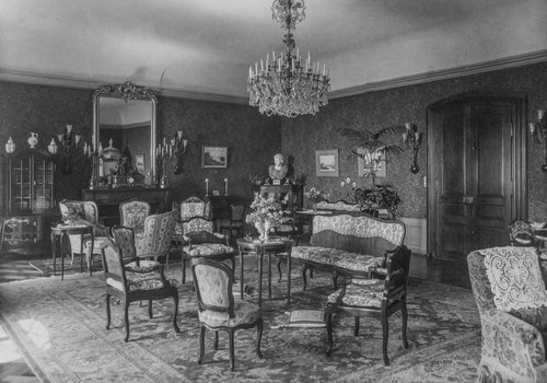 Salon de Mme Sautter-de Budé à Bonmont