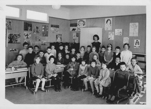 École de la Blécherette 1963