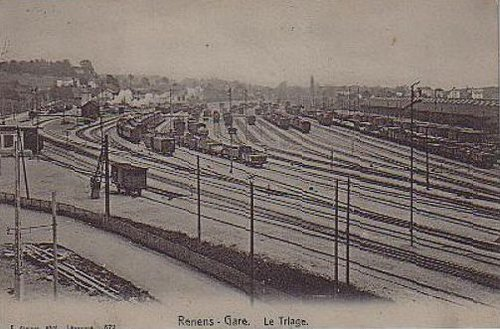 Renens gare de triage