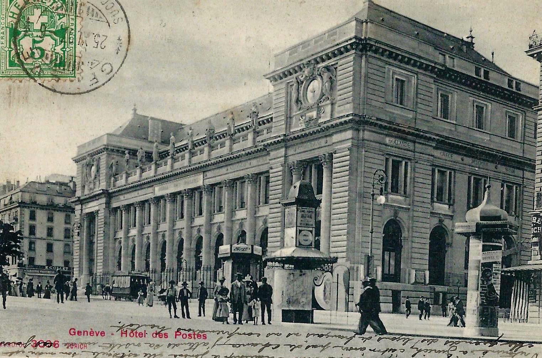 Genève, Hôtel des postes