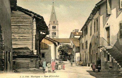Martigny, rue d'Octodure