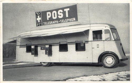1er Bureau de poste automobile