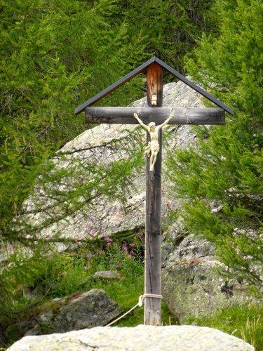 Une croix dans le Lötschental