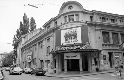 Genève, le Cinéma Alhambra